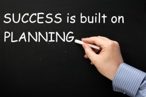 Success is built on planning